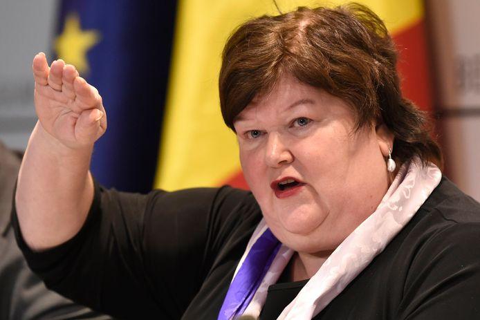 La ministre fédérale de la santé, Maggie De Block