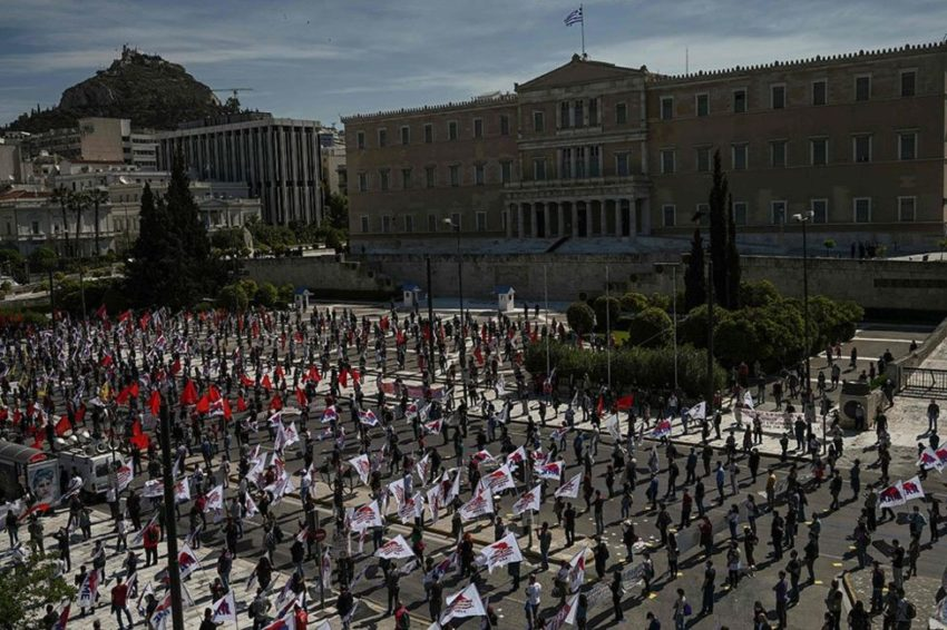 1er Mai à Athènes