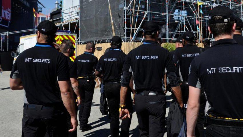 Agents de sécurité en France
