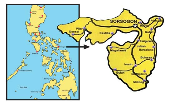 La province de Sorsogon
