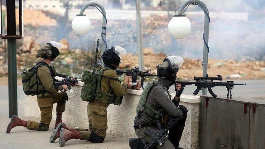 Forces d'occupation en Cisjordanie