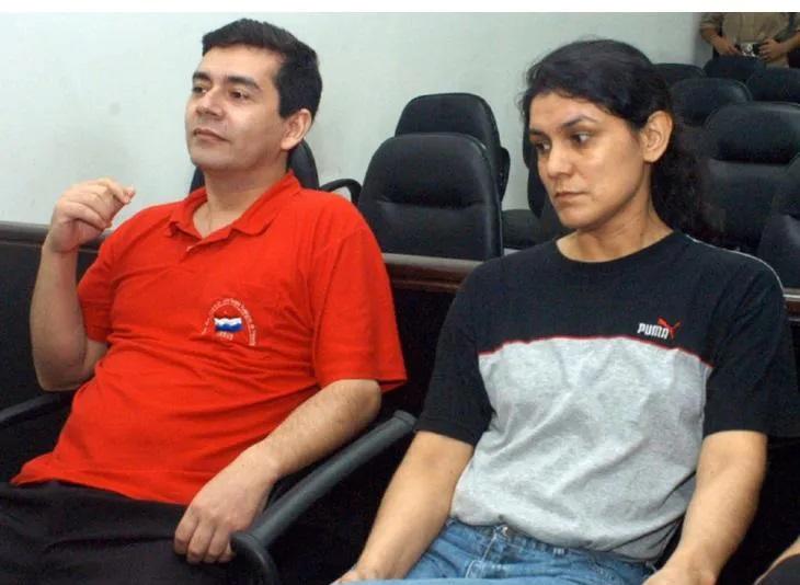 Alcides Oviedo et Carmen Villalba