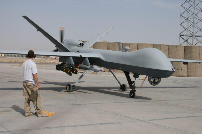 """Un drone """"Predator"""" (celui ayant survolé Minneapolis n'était pas armé)"""