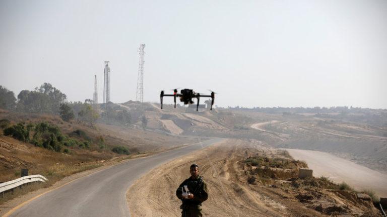 Drone Elbit en Palestine occupée