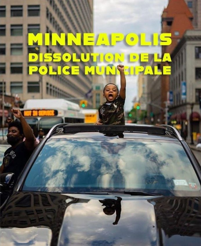 La police de Minneapolis dissoute