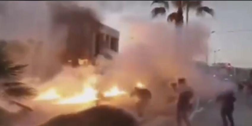 L'ambassade des États-Unis à Athènes attaquée au cocktail molotov