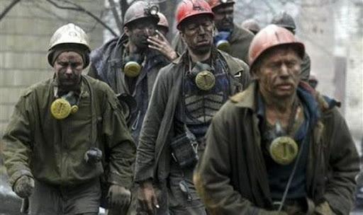 Les mineurs de Komsomolskaya