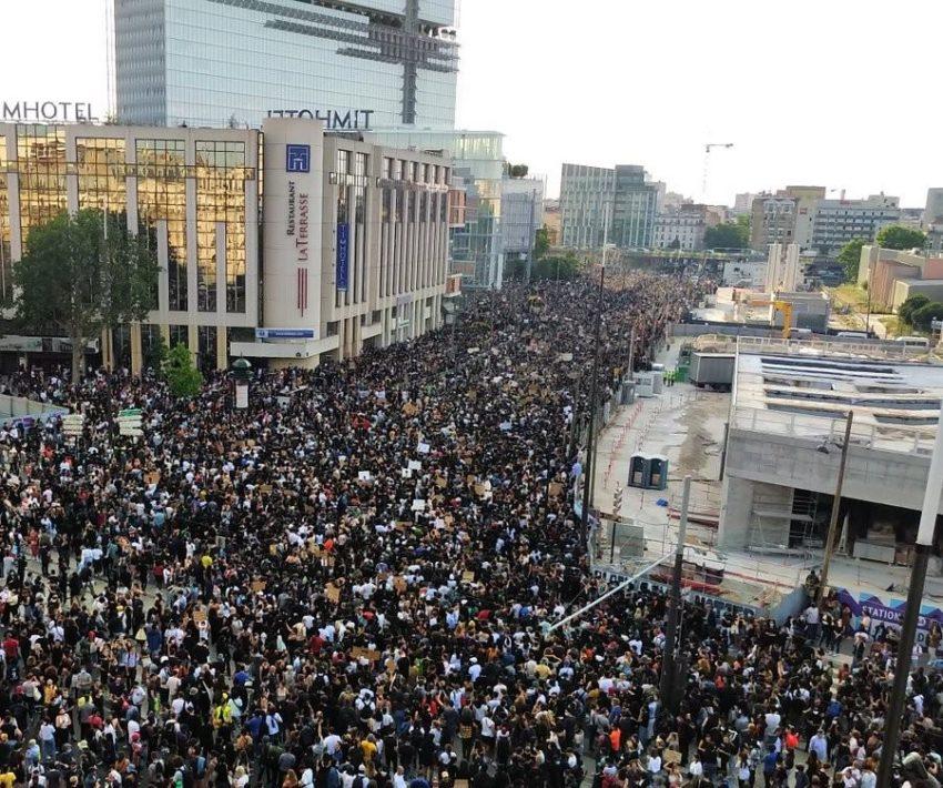 Manifestazione per Adama Traoré e contro i crimini della polizia