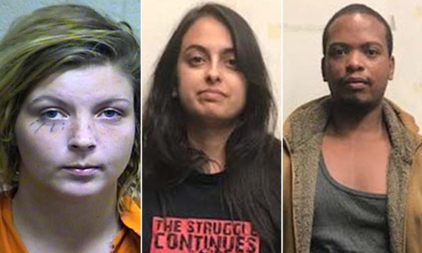 Samantha Shader, Colinford Mattis et Urooj Rahman