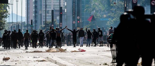 Les affrontements de Sao Paulo