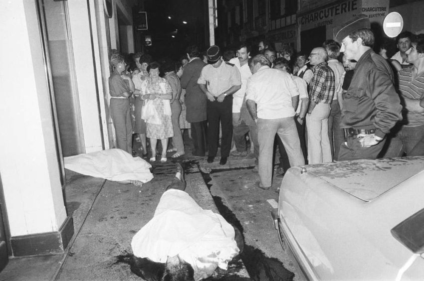 25 septembre 1985, quatre militants basques sont assassinés à l'hôtel Monbal, à Bayonne