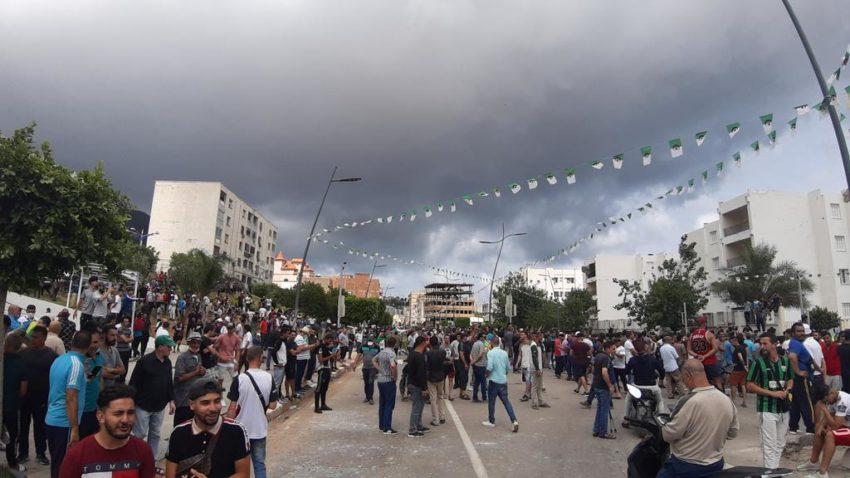 La manifestation à Bejaia