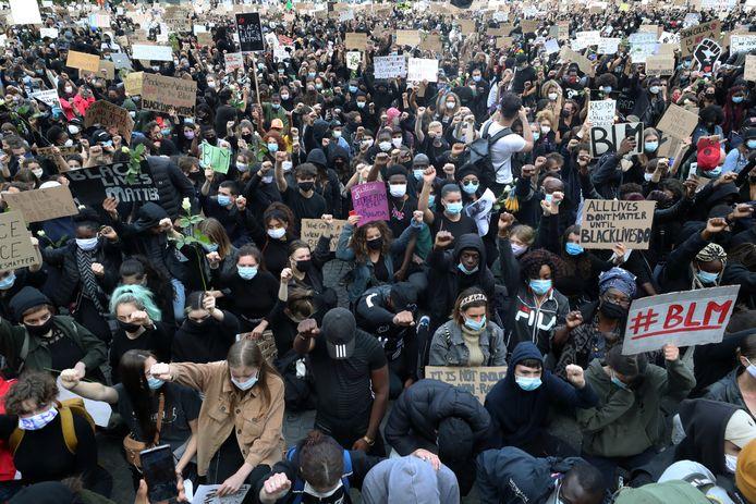 Manifestation BLM à Bruxelles