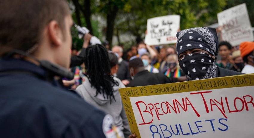 Manifestation consécutive au meurtre de Breonna Taylor