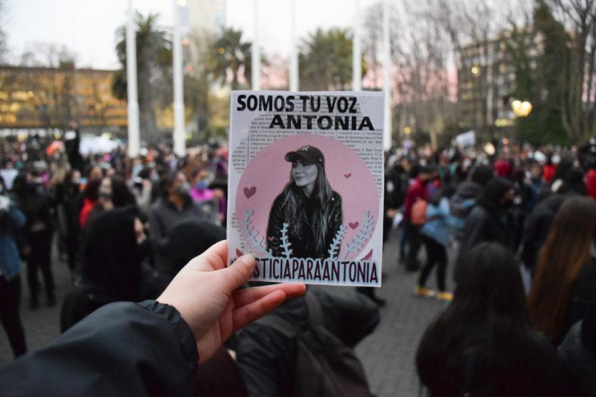 Manifestation pour Antonia Barra