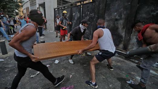 Émeutes du mardi 11 août 2020 au Liban