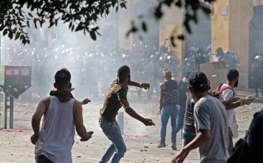 Les affrontements de Beyrouth