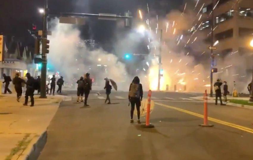 Affrontements à Denver