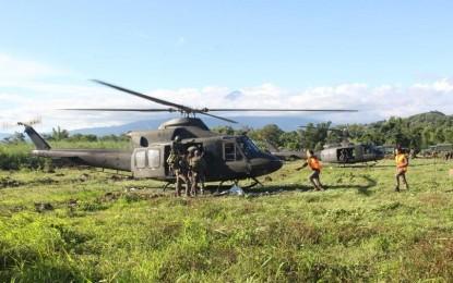 Opération héliportée ce vendredi midi