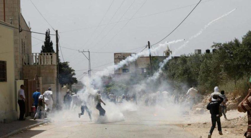 Affrontements à Kafr Qaddum (archive)