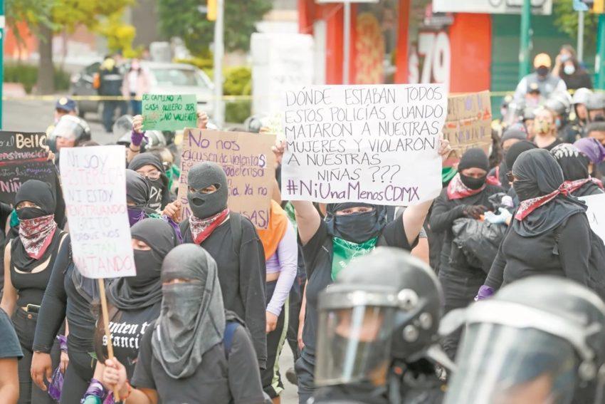 La marche féministe de Mexico ce dimanche