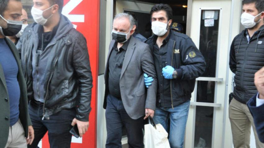 Arrestation d'un membre du HDP le 25 octobre 2020