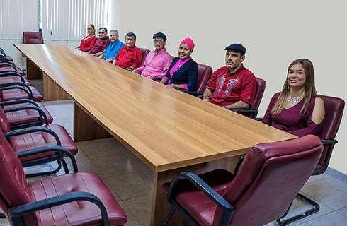 Des membres de la délégation de l'ELN à La Havane