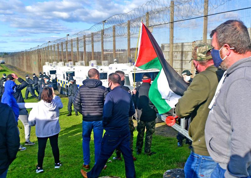 Plusieurs militants du Saoradh en procès suite à une émeute devant la prison de Maghaberry