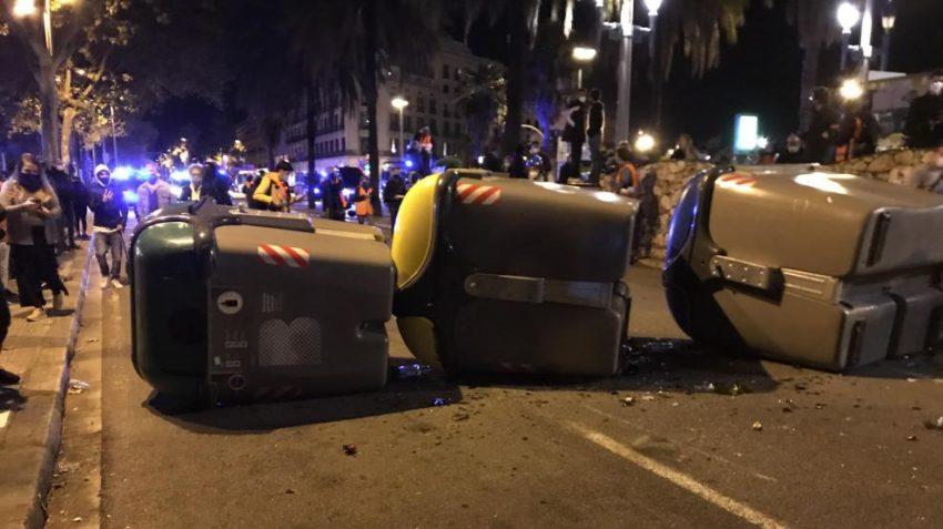 Affrontements à Barcelone lors d'une manifestation indépendantiste