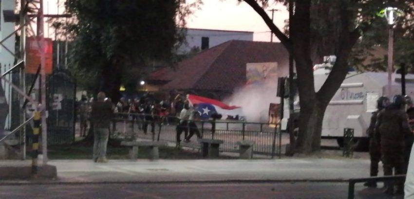 Émeutes anti-gouvernementales à Puente Alto