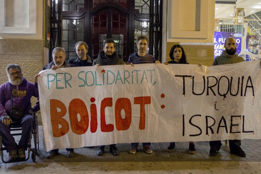Rassemblement du mouvement BDS à Valence