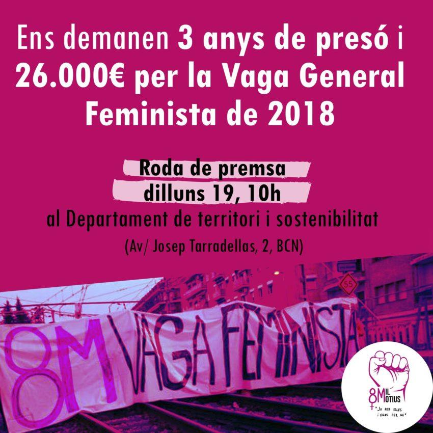 Trois ans de prison requis contre sept militantes féministes qui avaient bloqué les chemins de fer