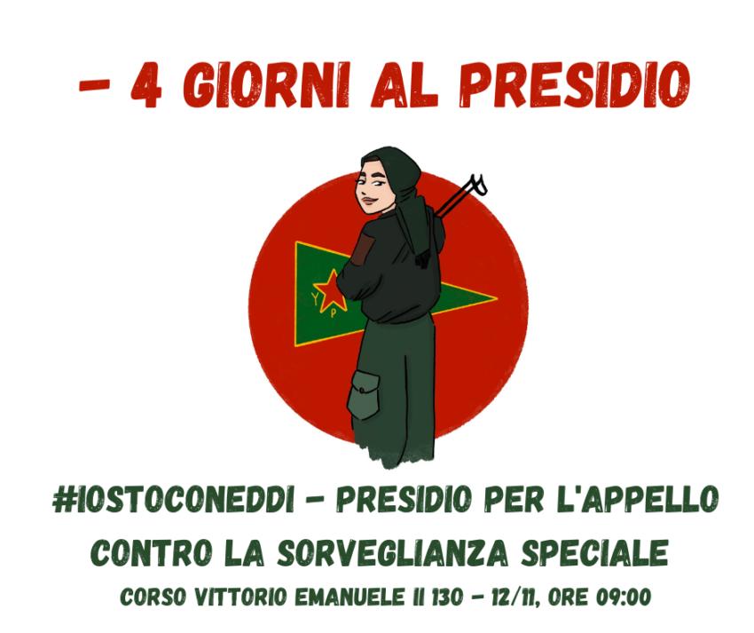 Eddi internationaliste italienne en recours contre les mesures de surveillance spéciale