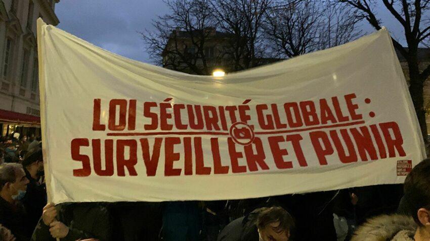 """Manifestations contre la loi """"Sécurité Globale"""""""