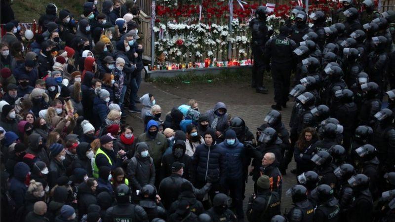 Nouvelles manifestations et nouvelles arrestations en Biélorussie