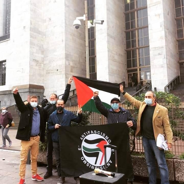 Quatre antisionistes en procès à Milan