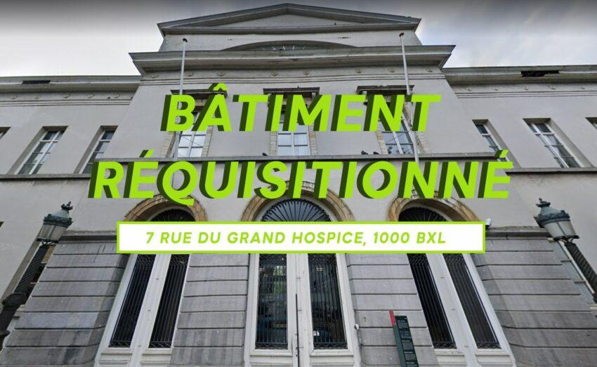 Ancien Hospice Pacheco - Campagne de Réquisitions Solidaires