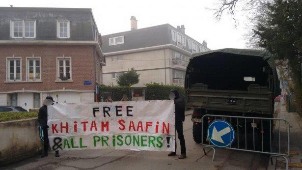 Action de solidarité avec Khitam Saafin, prisonnière féministe palestinienne