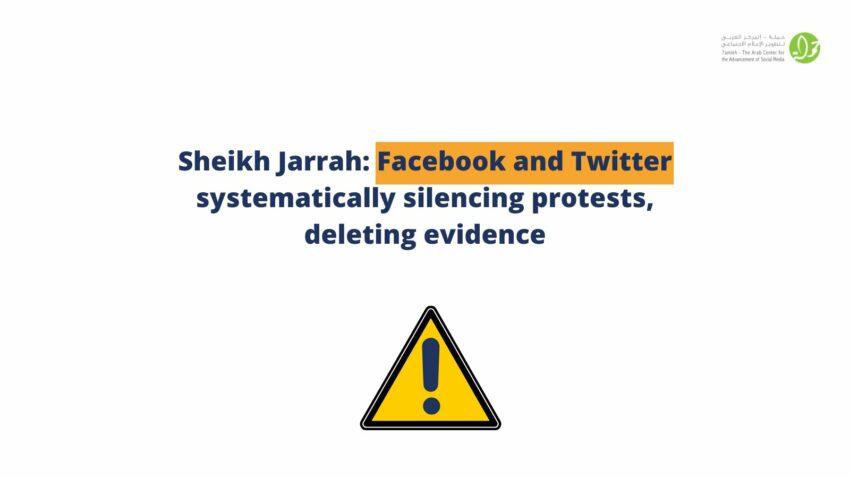 Les réseaux sociaux censurent les post témoignant de la répression du peuple palestinien