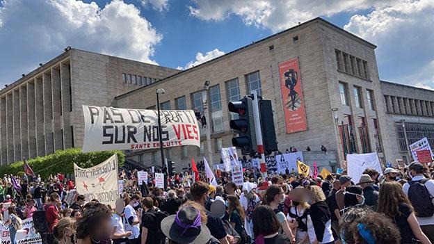 Manifestation de la Santé en Lutte